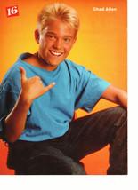 Chad Allen John Mellencamp teen magazine pinup clipping nice muscles hottie Bop