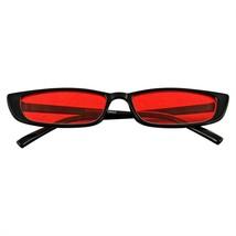 Rettangolo Piccolo Occhiali da Sole Donna Uomo Vintage Retrò Moda Tonalità UV - $11.46