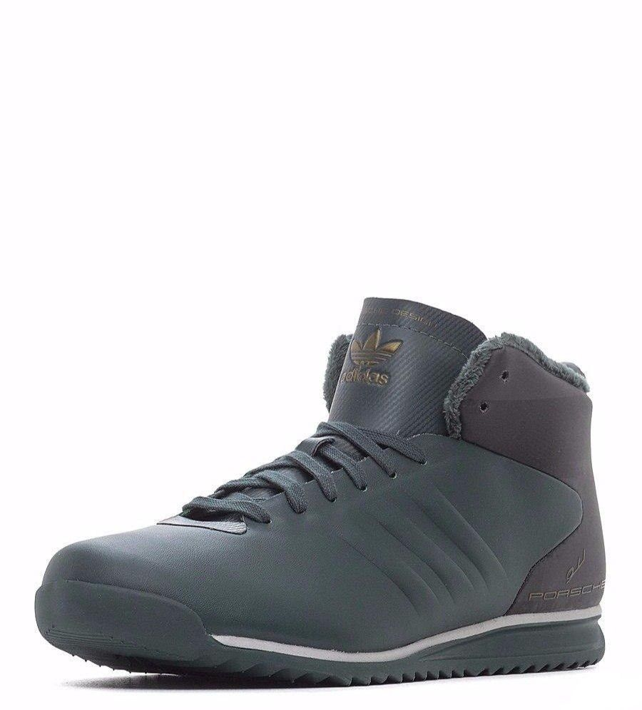 factory price 251dc f1cd0 57. 57. Previous. Adidas PORSCHE 911 2.0L MID Winter Sneakers Mens Walking  S76116 Sz US 12