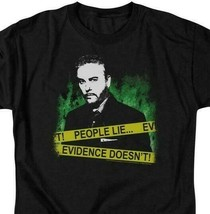 CSI t-shirt Gil Grissom People lie Evidence doesnt graphic tee CBS378B image 2