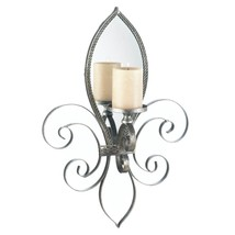 Sconce Candle, Mirrored Decorative Indoor Wall Sconce Candles Holders - $57.99