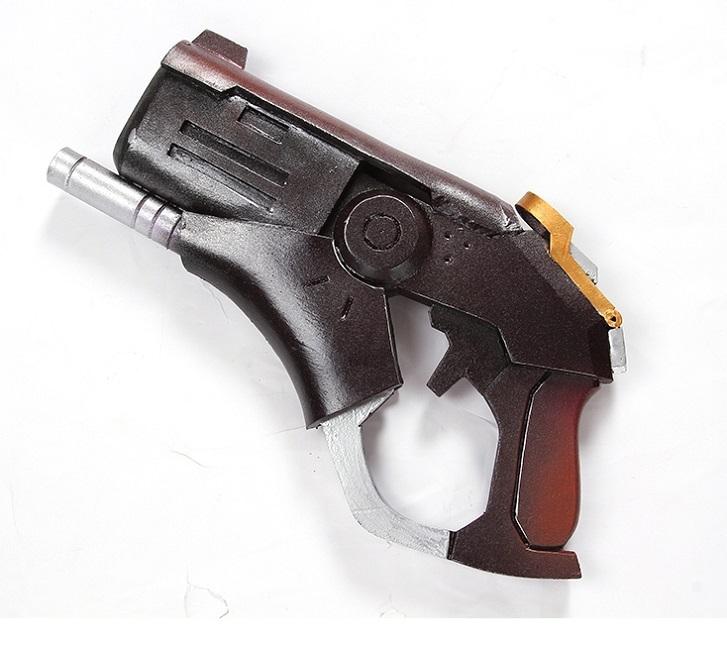 Overwatch halloween terror mercy skin witch weapon cosplay replica caduceus blaster buy