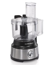 10 Cup Capacity Food Processor 450 Watts with 2 Speeds Plus Pulse Choppi... - $74.17