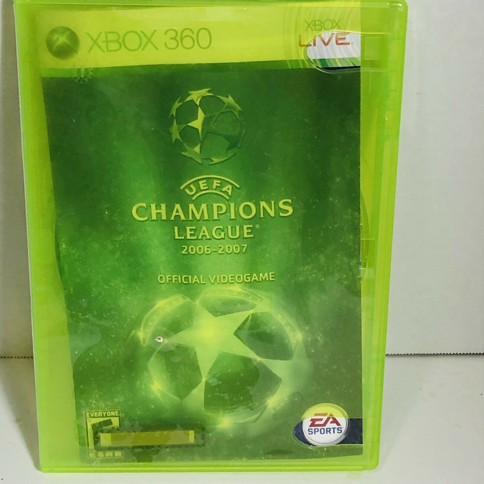 Microsoft Xbox 360 UEFA Champions League 2006-2007