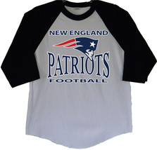 New England Patriots Men's Baseball Tees Raglan (S/M/L/XL)  (2XL/3XL More) - $24.74+