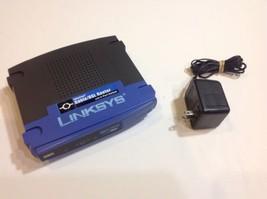 Linksys BEFSR41 V 4.3 EtherFast Cable/DSL  Router & 4 Port Switch Lot # 0557 - $14.95
