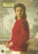 Sirdar Mohair Sweater Pattern Leaflet 8522 Knit Knitted Knitting - $4.99