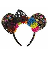 Disney Parks Dia de los Muertos Coco Minnie Mouse Ears Headband New with... - $62.32