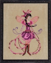 "NC217""THE BLOSSOM COLLECTOR"" Nora Corbett Chart + MH Beads + Caron 0.5 +... - $32.66"