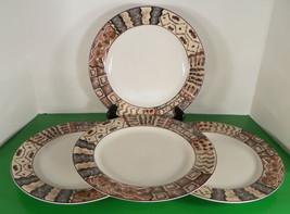 Vitromaster Sue Zipkin MALI 1993 Dinner Plate (s) LOT OF 4 Vintage 1993 - $29.49