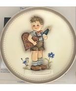 Goebel Hummel 1987 Valentine Joy Plate Collector's Club with Box, Beautiful - $11.30