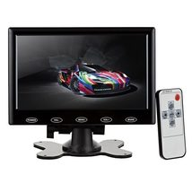 "7"" HD HDMI LCD Display Screen Monitor w/ VGA, HDMI, AV, Audio - Black - $52.89"