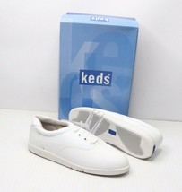 Vintage 90s Keds New Womens 7 M Champion Walker Lace Up Walking Shoes White - $37.57