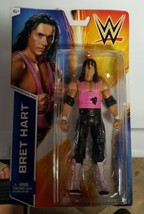 WWE BRET HIT MAN HART Basic Series 49 Wrestling Figure SUPERSTAR #28 Signed - $25.99