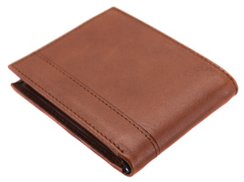 Tommy Hilfiger Men's Leather RFID Fixed Passcase Wallet Billfold 31TL220084 image 8
