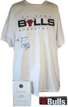 NBA All Star Bob Love Chicago Bulls  Signed Autograph XL Shirt & Brochure  - $71.99