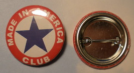 "Wholesale Lot of 318 Pin Back Buttons, ""Made In America Club"" BTN-0109 - $118.80"