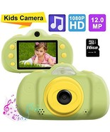 Kids Camera Gifts for Boys Girls, 12.0MP HD 1080P Child Shockproof Camer... - $41.80