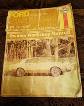 Ford Mustang ll 2.3 2.8 1974-1976 Owners Workshop Manual  4 & 6 cyl Mode... - $9.74
