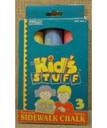 Kids Stuff Sidewalk Chalk 3 Sticks - $6.38
