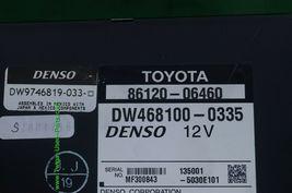 07 08 09 Toyota Camry Hybrid Denso Navigation CD Player Radio 86120-06460 image 5