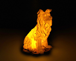 Dog - 3D Printed Accent Lamp - $34.00+
