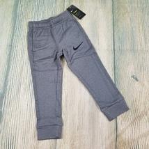 New NIKE sz 4 (XS) little boys grey fleece lined pants (JH359) - $20.00