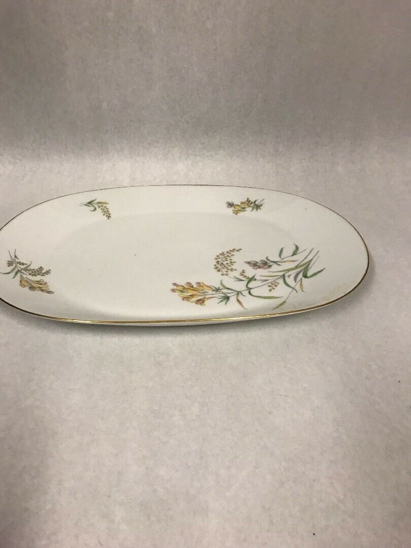 Primary image for Rosenthal Sommerbluten Summer Blossoms Bettina 22 oval platter plate dish 15 in.