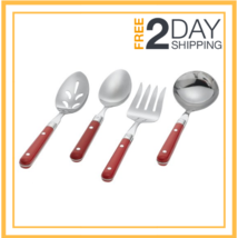 Ginkgo International Le Prix 4-Piece Stainless Steel Hostess Serving Set... - $35.39