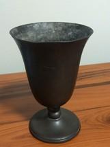 vintage Genuine Pewter Goblet - $8.00
