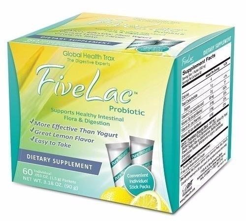 FiveLac and ThreeLac By Global Health Trax - $104.90