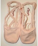 Capezio 2039 Pro Canvas Shoes Ballet Pink BPK Split Sole Size 7.5M 7.5 M - $27.87