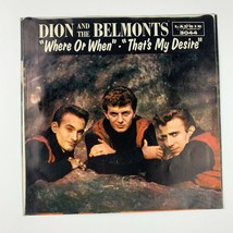 Vinyl Music Record Dion and the Belmonts Where Or When- That's My Desire... - £14.52 GBP