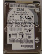 "20GB 2.5"" 9.5mm IDE 44pin Hard Drive IBM IC25N020ATDA04-0 Tested Free US... - $9.75"