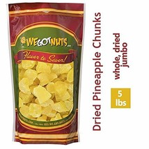 We Got Nuts Dried Pineapple Chunks | Freshly Packed Pineapple In A Perfe... - $46.97