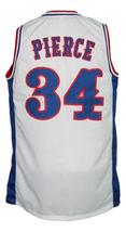 Paul Pierce #34 Custom College Basketball Jersey New Sewn White Any Size image 5