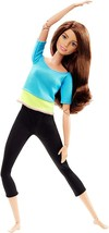 Barbie Made to Move Doll, Blue Top - $42.28