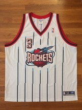 Authentic 2001 Reebok Houston Rockets Steve Francis Home White Jersey 56 - $309.99