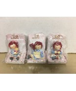 Russ - Raggedy Ann - Lot Of 3 Valentine Figurines. All NM/MIB - $15.83