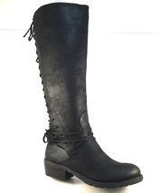 Very Volatile Miraculous Black Knee High Boots - £53.38 GBP