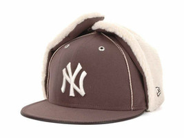 New York Yankees New Era MLB Dabu 11 59FIFTY Cap Hat - Size: 7 1/8 Warm Mens - $19.79