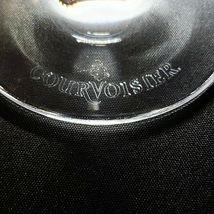 1 (One) CRISTAL D'ARQUES VENISE SAPHIR COURVOISIER Crystal Brandy Snifter image 3