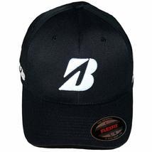 Bridgestone Fitted Golf Cap, Black - $19.95