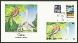 Nat'l Audubon Society-Illinois-Mourning Dove, Fleetwood ANY 4= - $4.36