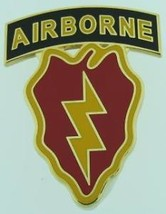 Army 25TH Infantry 4TH Brigade Combat Team Airborne Identification Id Badge - $31.58