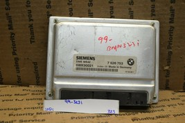 1999 BMW 323i Engine Control Unit ECU Module 5WK90021 323-10d1 - $49.99