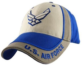 Us Air Force Multi Color Officially Licensed Ebroidered Bill Hat Baseball Cap - $23.95