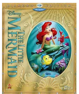 The Little Mermaid (Blu-ray/DVD, 2013, 2-Disc Set, Diamond Edition) - $29.95