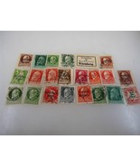 Lot of 22 Vintage Early 20th Century Bavaria Stamps - Make an Offer - $11.93