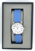 Speidel Scrub Nurse Watch for Medical Professionals with Blue Silicone Band - $44.99